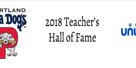 Lindsay Mahoney Named to Sea Dogs and Unum Teacher Hall of Fame