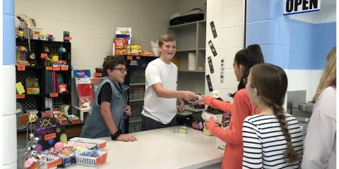 New School Store Provides Valuable Learning Experiences at MMS