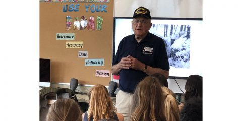 Veteran Speaks at MMS