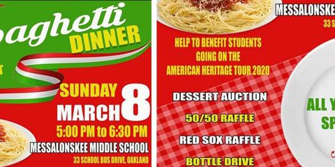 All you can eat spaghetti dinner at MMS
